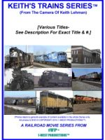 Keith's Trains Series™ DVD (Note:  All Titles Distinguishable by Number & Title Name)