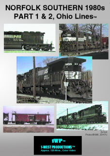 Image of Norfolk Southern 1980s, OH Lines Series™ PT 1 & 2 Railroad DVD