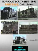 Image of NS 1980s, Ohio Lines Series™ Railroad DVD, from 1-West Productions™