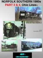 Image of NS 1980s, Ohio Lines Series™, Part 3 & 4 Railroad DVD from 1-West Productions™
