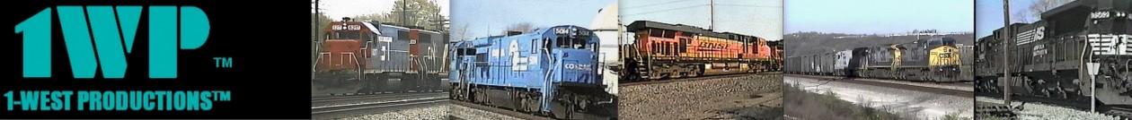 Railroad DVDs & Audio 1-WEST PRODUCTIONS™