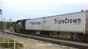 Image of a Triple crown train from 1-West Productions™