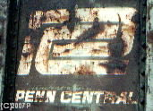 Penn Central RR logo photo- 1-West Productions™