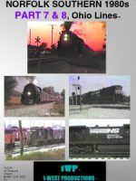 Photo of NORFOLK SOUTHERN 1980s, Ohio Lines™, PART 7 & 8 Railroad DVD