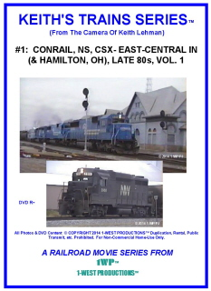 Image of Keith's Trains Series™ RR DVD #1 (1-West Productions™)