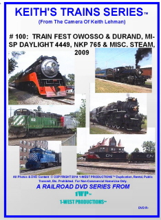 Image of Keith's Trains Series™ RR DVD #100 (1-West Productions™)