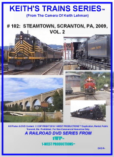 Image of Keith's Trains Series™ RR DVD #102 (1-West Productions™)