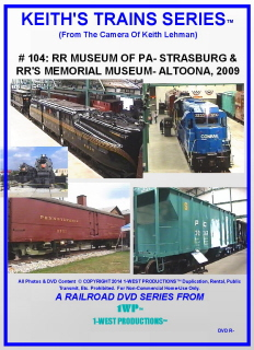 Image of Keith's Trains Series™ RR DVD #104 (1-West Productions™)