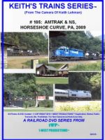Image of Keith's Trains Series™ RR DVD #105 (1-West Productions™)