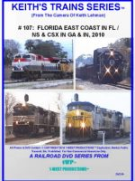 Image of Keith's Trains Series™ RR DVD #107 (1-West Productions™)
