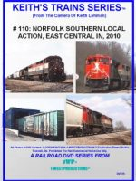 Image of Keith's Trains Series™ RR DVD #110 (1-West Productions™)