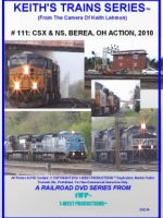 Image of Keith's Trains Series™ RR DVD #111 (1-West Productions™)