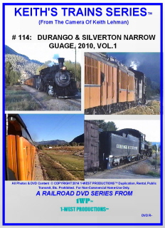 Image of Keith's Trains Series™ RR DVD #114 (1-West Productions™)