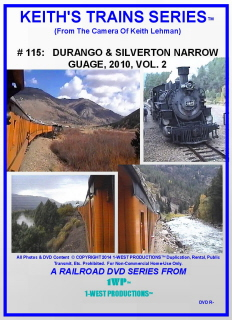 Image of Keith's Trains Series™ RR DVD #115 (1-West Productions™)