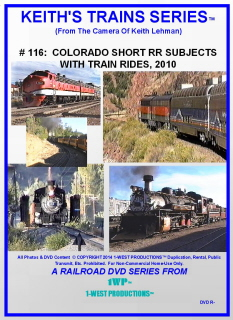Image of Keith's Trains Series™ RR DVD #116 (1-West Productions™)