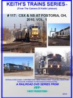 Image of Keith's Trains Series™ RR DVD #117 (1-West Productions™)