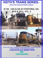 Image of Keith's Trains Series™ RR DVD #118 (1-West Productions™)