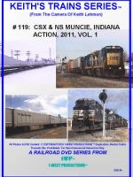 Image of Keith's Trains Series™ RR DVD #119 (1-West Productions™)