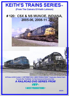 Image of Keith's Trains Series™ RR DVD #120 (1-West Productions™)