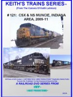 Image of Keith's Trains Series™ RR DVD #121 (1-West Productions™)