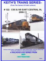 Image of Keith's Trains Series™ RR DVD #122 (1-West Productions™)