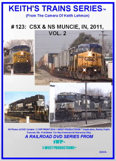 Image of Keith's Trains Series™ RR DVD #123 (1-West Productions™)