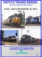 Image of Keith's Trains Series™ RR DVD #124 (1-West Productions™)