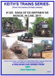 Image of Keith's Trains Series™ RR DVD #125 (1-West Productions™)