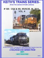 Image of Keith's Trains Series™ RR DVD #126 (1-West Productions™)