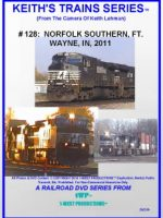 Image of Keith's Trains Series™ RR DVD #128 (1-West Productions™)
