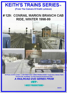 Image of Keith's Trains Series™ RR DVD #129 (1-West Productions™)
