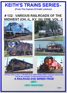 Image of Keith's Trains Series™ RR DVD #132 (1-West Productions™)