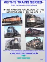 Image of Keith's Trains Series™ RR DVD #133 (1-West Productions™)