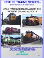 Image of Keith's Trains Series™ RR DVD #134 (1-West Productions™)