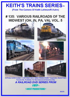 Image of Keith's Trains Series™ RR DVD #135 (1-West Productions™)