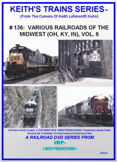 Image of Keith's Trains Series™ RR DVD #136 (1-West Productions™)