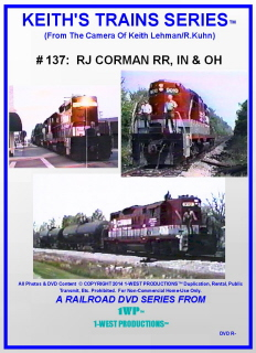 Image of Keith's Trains Series™ RR DVD #137 (1-West Productions™)