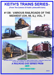 Image of Keith's Trains Series™ RR DVD #138 (1-West Productions™)