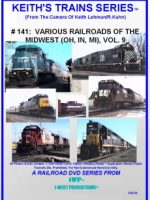 Image of Keith's Trains Series™ RR DVD #141 (1-West Productions™)
