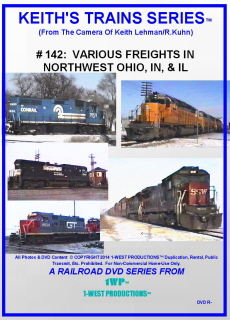 Image of Keith's Trains Series™ RR DVD #142 (1-West Productions™)
