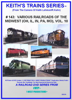 Image of Keith's Trains Series™ RR DVD #143 (1-West Productions™)