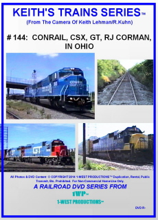 Image of Keith's Trains Series™ RR DVD #144 (1-West Productions™)