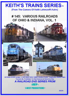 Image of Keith's Trains Series™ RR DVD #145 (1-West Productions™)