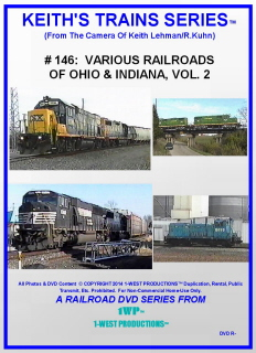 Image of Keith's Trains Series™ RR DVD #146 (1-West Productions™)