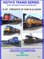 Image of Keith's Trains Series™ RR DVD #147 (1-West Productions™)