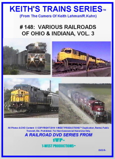 Image of Keith's Trains Series™ RR DVD #148 (1-West Productions™)