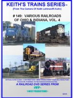 Image of Keith's Trains Series™ RR DVD #149 (1-West Productions™)