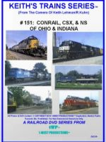 Image of Keith's Trains Series™ RR DVD #151 (1-West Productions™)