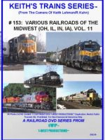Image of Keith's Trains Series™ RR DVD #153 (1-West Productions™)