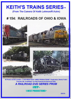 Image of Keith's Trains Series™ RR DVD #154 (1-West Productions™)